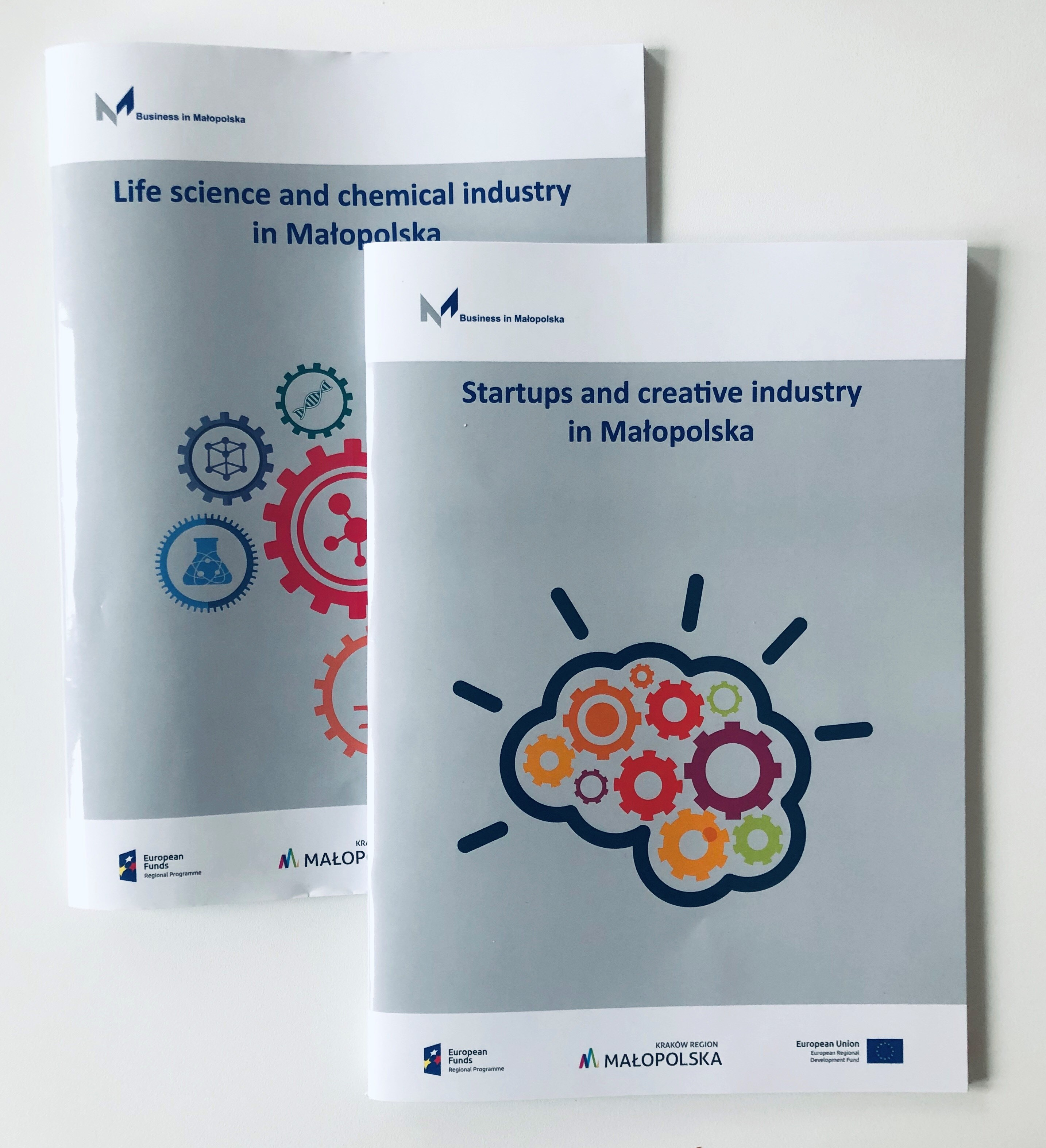 """Life science and chemical industry in Małopolska"" i ""Startup and creative industry in Małopolska"""